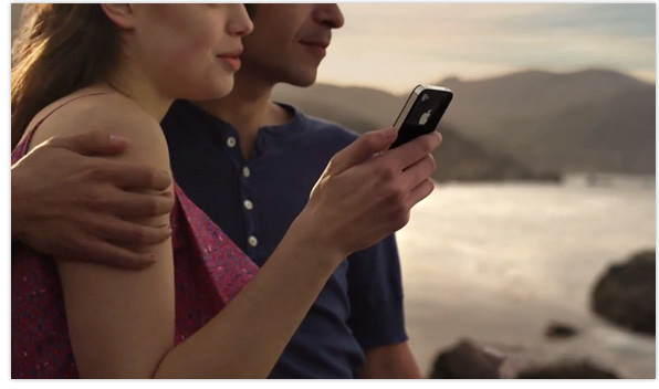 new iPhone 4S TV advert
