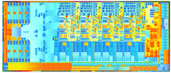 3nd Gen Intel® Core™ Processor Die
