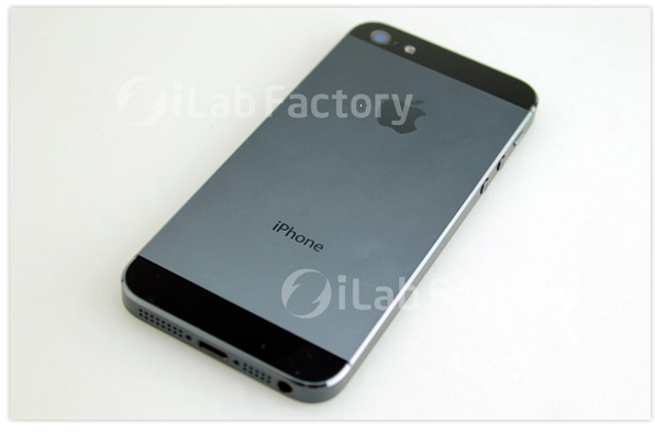 Alleged iPhone 5 rear