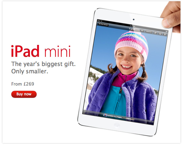 Apple Christmas gifts guide 2012