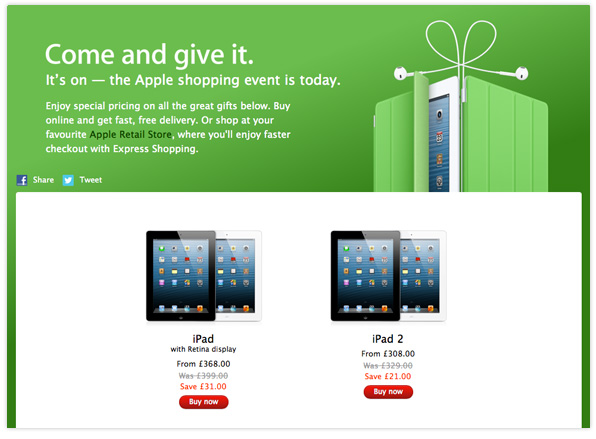 Apple Black Friday UK