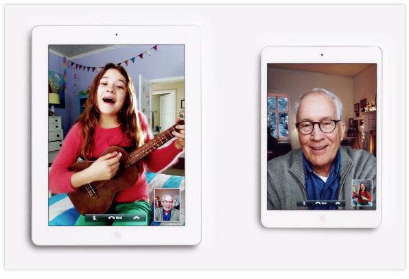 Apple Christmas TV ad