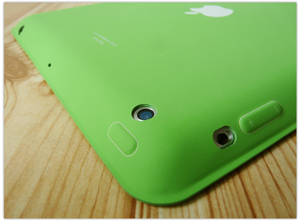 Apple iPad Smart Case cut-outs