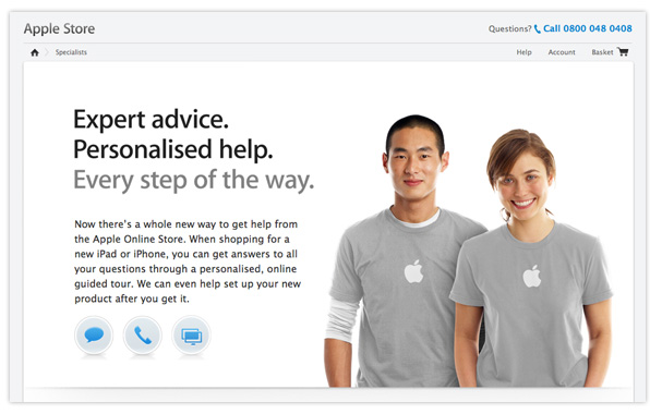 Apple Online Store Specialists