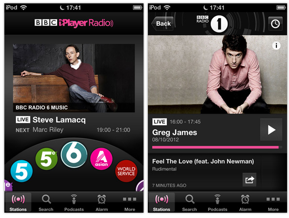BBC launches iPlayer Radio service and iOS app | Macsessed