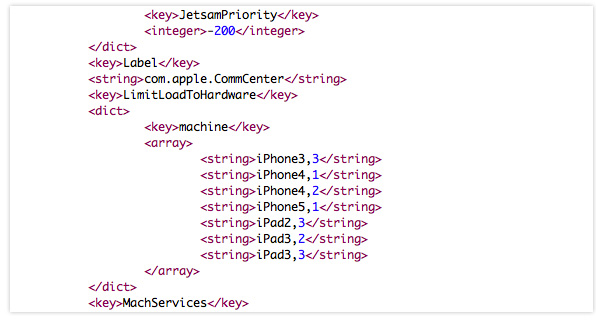 iOS 5.1 Beta code strings