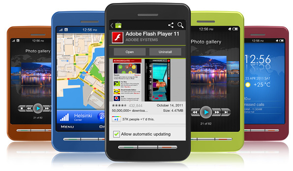 flash on mobile devices