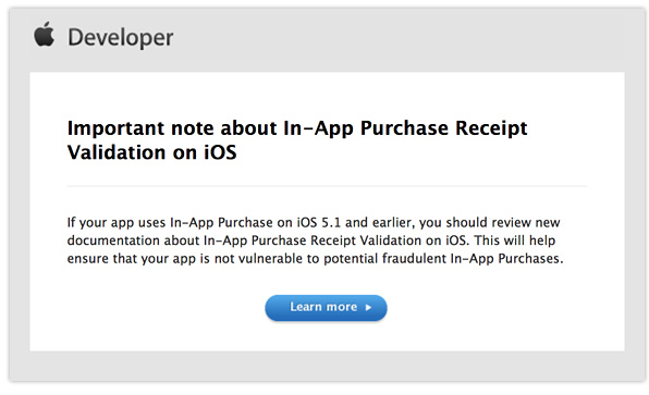 in-app purchase fix