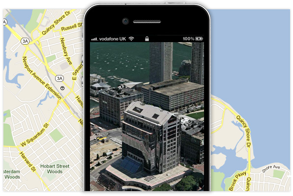 what iOS 6 maps could look like