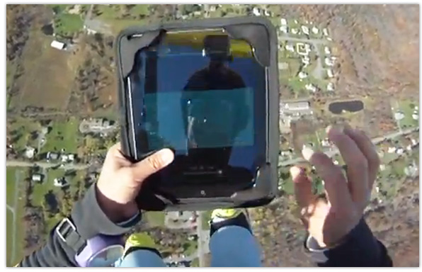 iPad Skydiving