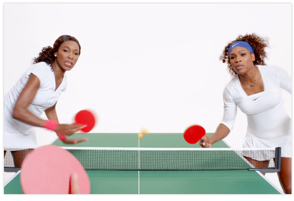 Venus & Serena Williams iPhone 5 TV advert
