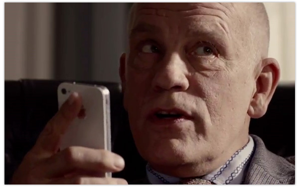 John Malkovich-Apple-iPhone-Siri-Paris-Review-Commercial