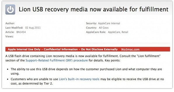 Lion USB Document