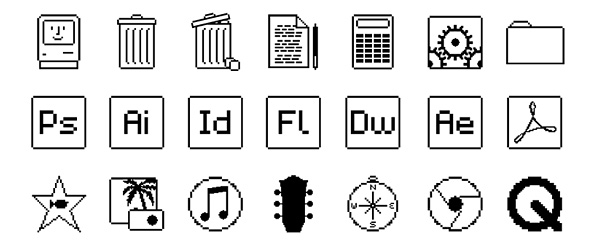 Cool System Preferences Icon This retro icon pack m...