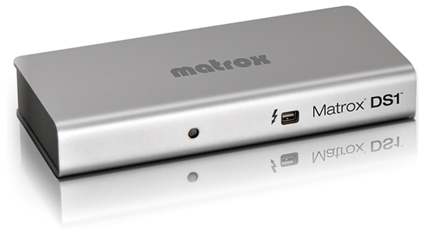 Matrox DS1 Thunderbolt dock