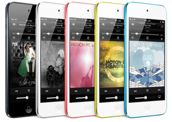 new iPod touches
