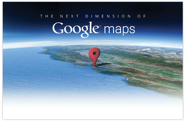Google Earth 3D maps