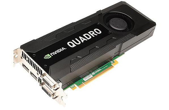 NVIDIA Quadro K5000 GPU for Mac Pro
