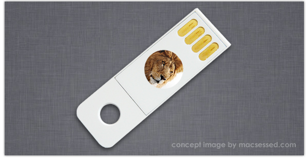 OS X Lion USB Stick