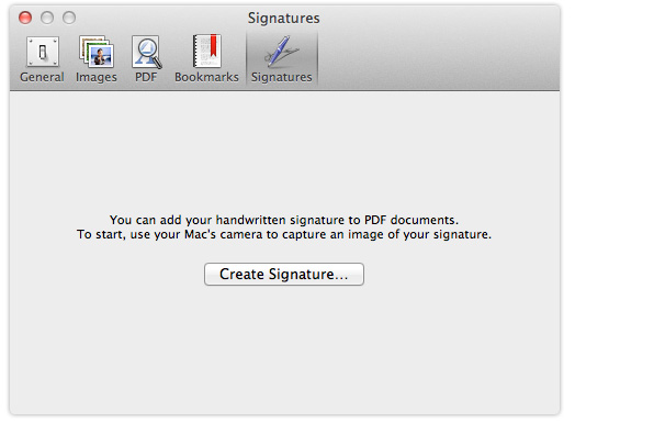 insert signature in a pdf