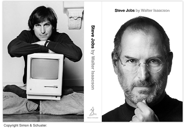 Steve Jobs biography jacket