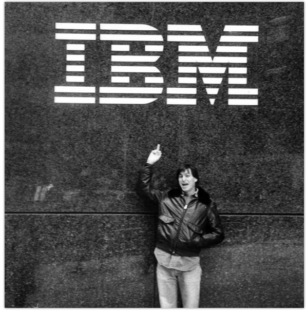 Steve Jobs photograph from 1983