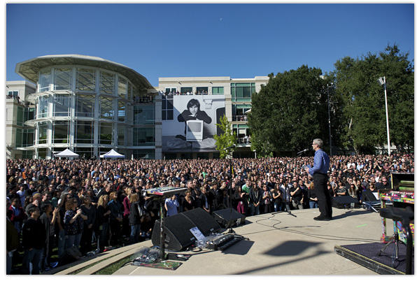 Steve Jobs Apple Memorial